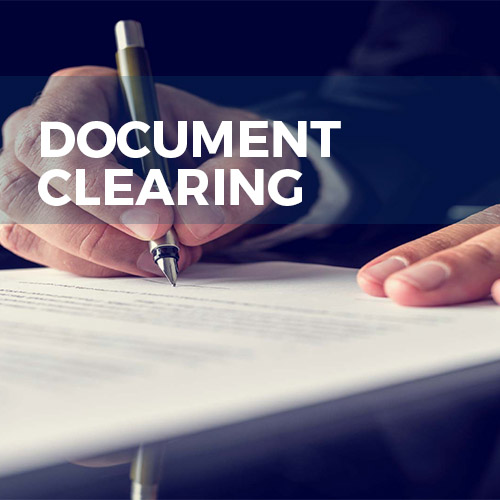 Document-Clearing